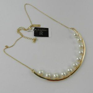 M. Haskell for INC Faux Pearl Necklace (N41)